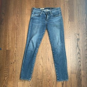 AG Adriano Goldschmied Stevie ankle jeans